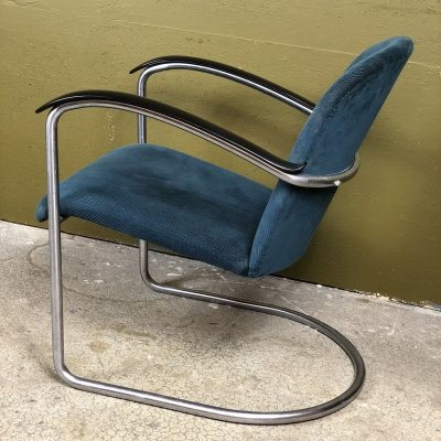 Model 414 lounge chair by W. Gispen for Gispen, 1930s