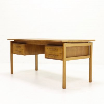Teak Executive Desk by Imha Møbelfabrik, Denmark 1960s