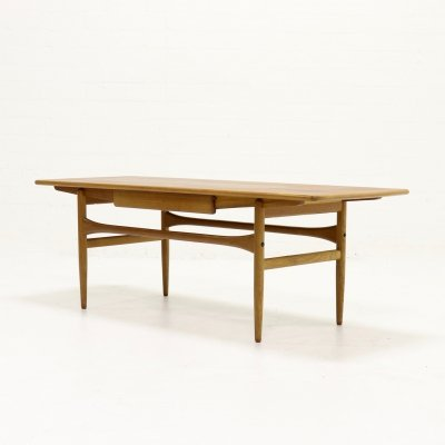 Mid Century Teak Coffee Table, Danish Design 1960s