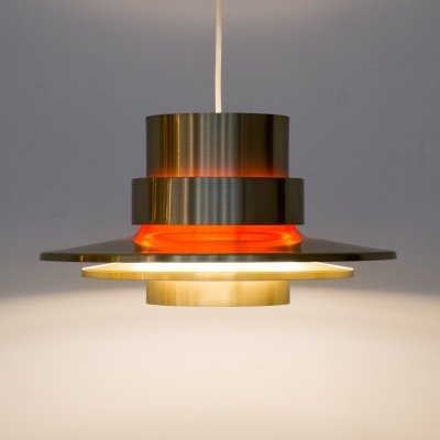 Pendant light for Granhaga Metallindustri Sweden, 1970s
