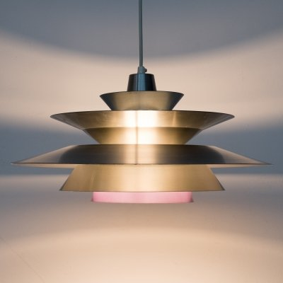 Danish pendant light, 1970s