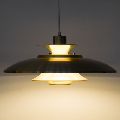 Danish pendant by Form Light, 1980s