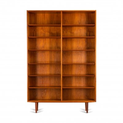 Scandinavian grand teak bookcase by Carlo Jensen for Hundevad & Co, 1960s