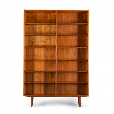 Danish teak bookcase number 2 by Carlo Jensen for Hundevad & Co
