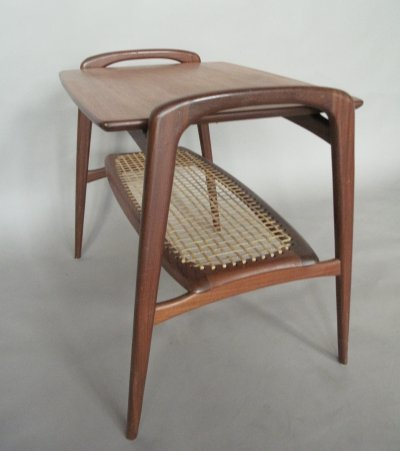Side table by Louis van Teeffelen for Wébé, 1950s