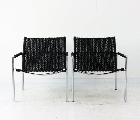 2 x SZ01 lounge chair by Martin Visser for Spectrum, 1970s