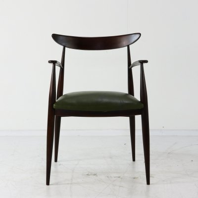 Danish design desk armchair, 1960s