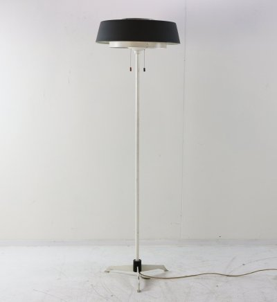 ST 7128 floor lamp by Niek Hiemstra for Hiemstra Evolux, 1950s