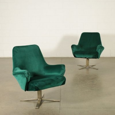 Pair of Formanova Armchairs by Giulio Moscatelli