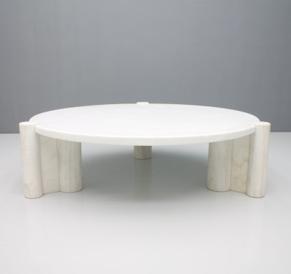Very rare round Jumbo Coffee table by Gae Aulenti for Knoll, 1964