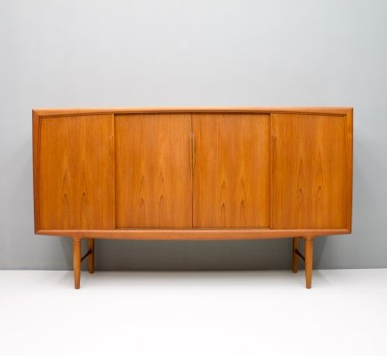 Teak Highboard by Axel Christensen for ACO Mobler, 1960s