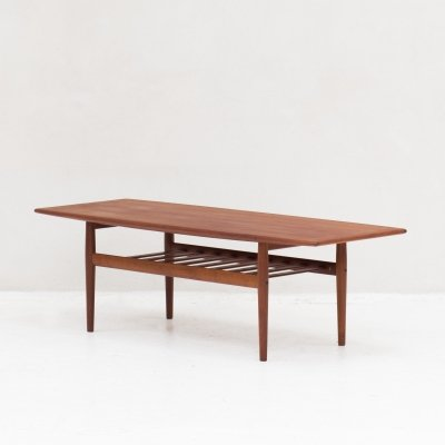 Coffee table by Grete Jalk for Glostrup, Denmark 1960's