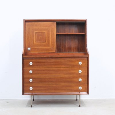 Mid century rosewood cabinet by Georges Coslin for 3V, 1950s