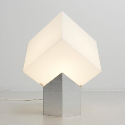 Cube light by Paul Driessen for Raak Amsterdam, 1970s