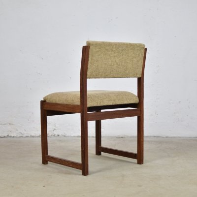 Rare set of 6 dining chairs by Emiel Veranneman for De Coene, Belgium 1960's