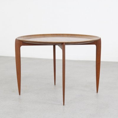 Early tray table by Svend Åge Willumsen & Hans Engholm for Fritz Hansen, 1950s