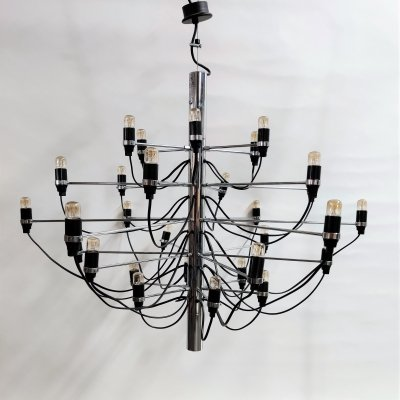 Gino sarfatti chandelier model 2097/30 for Flos