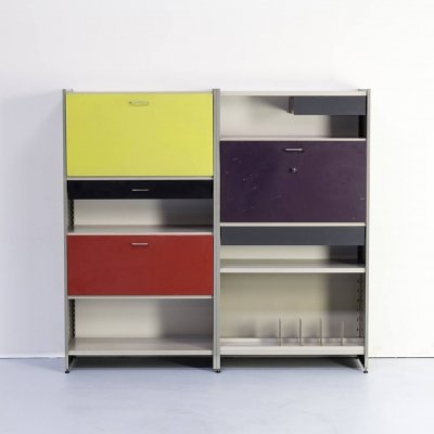 A.R. Cordemeijer & L. Holleman 'model 5600' wall unit for Gispen