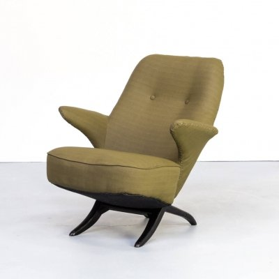 50s Theo Ruth 'pinguin' lounge fauteuil for Artifort