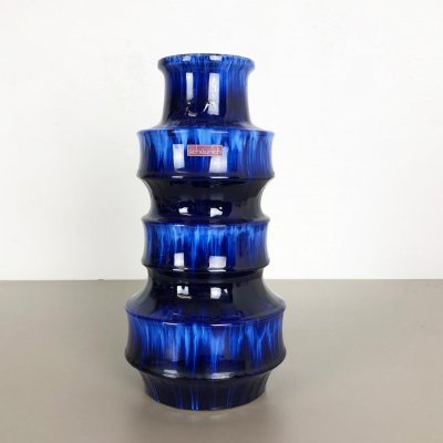 Large Floorvase Fat Lava '267-38' Vase by Scheurich, Germany, 1970s