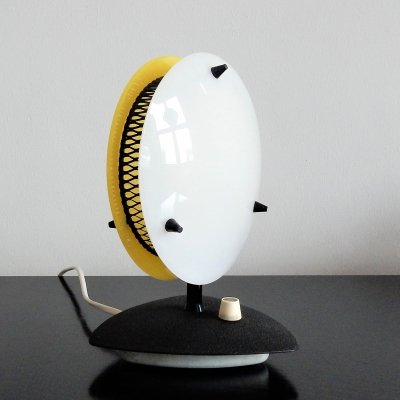 Dimmable Sonnenkind table lamp for Télé-Ambiance, France 1950's/1960's
