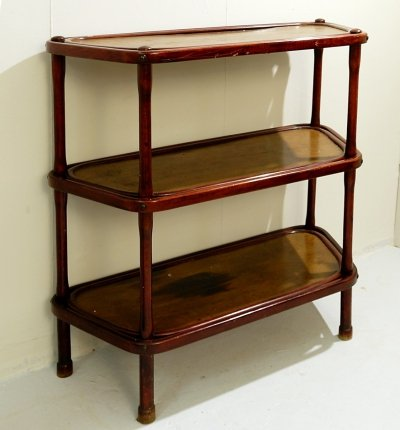 Bentwood Thonet Shelf / Stand, 1940s