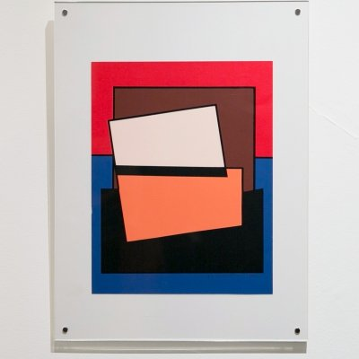 Small silkscreen by Guy Vandenbranden (13/120), 1990's