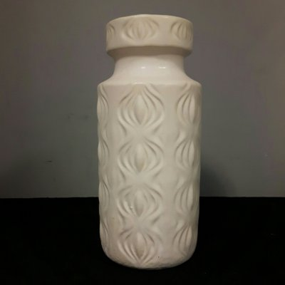 White onion vase by Scheurich Germany
