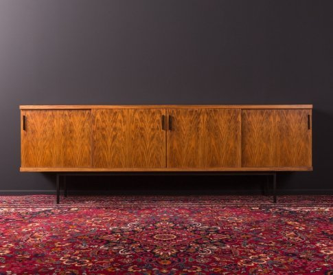 Walnut sideboard from Germany, 1950s