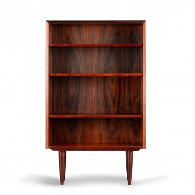 Small mid-century rosewood bookcase by E. Brouer for Brouer Møbelfabrik, 1960s
