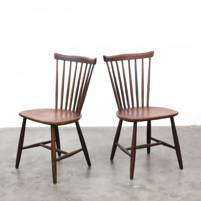 2 x Nesto SH41 dining chair by Yngve Ekström for Pastoe, 1960s