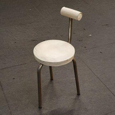 Highly collectible Rare tubular side chair, 1930s