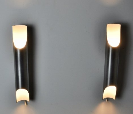 Pair of Fuga Wall Lamps by Maija Liisa Komulainen for Raak 1970s