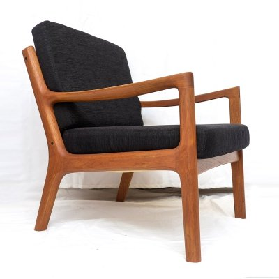 Teak Senator Lounge Chair by Ole Wanscher for France & Son