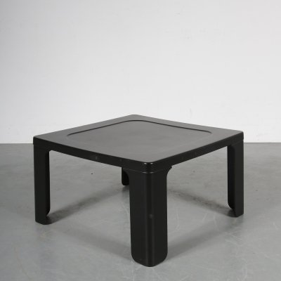 1970s German plastic coffee table by Dieter Rams for Vitsoe
