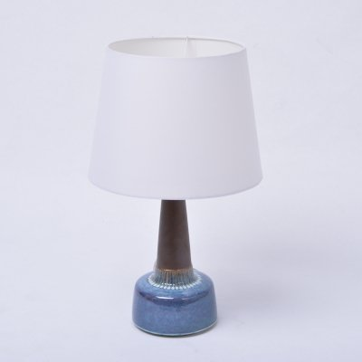 Mid-Century Model 1080 Stoneware Table Lamp by Einar Johansen for Søholm, 1960s