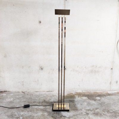Brass Floor Lamp from Deknudt, Belgium 1970s