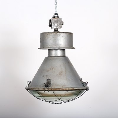 Industrial pendant lamp, 1970s