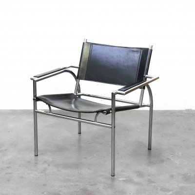 Model 4735 arm chair by Gerard Vollenbrock for Leolux, 1980s