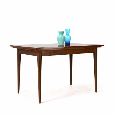 Extendible '60s Teak Dining Table