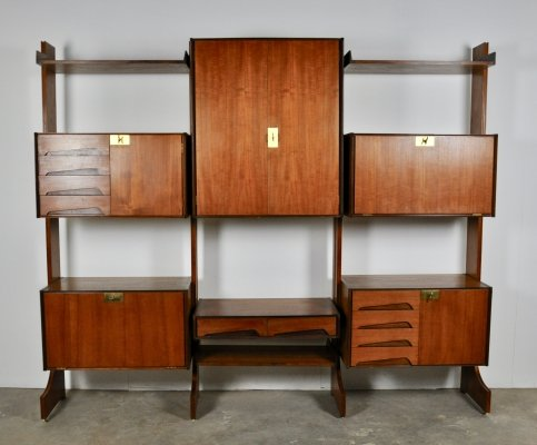Italian Wall Unit by Vittorio Dassi for Dassi, 1950s
