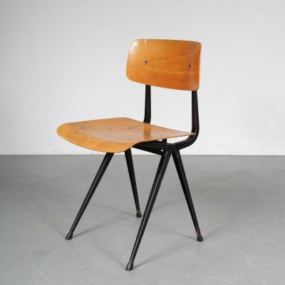 1st Edition Result chair by Friso Kramer for Ahrend de Cirkel, 1950s