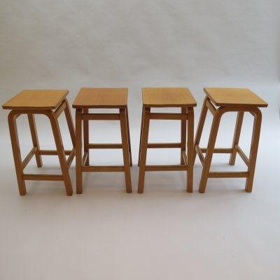 Laboratory School Stools by James Leonard for Esavian UK, 1970s