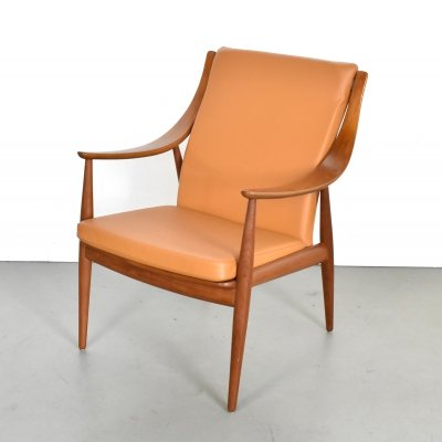 Lounge chair by Peter Hvidt & Orla Mølgaard Nielsen for France & Son, 1960s