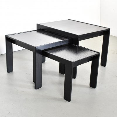 Nesting table by Tobia Scarpa & Afra Scarpa for Cassina, 1960s