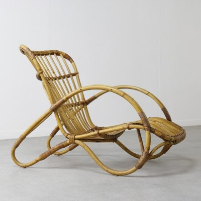Low lounge chair by Rohé Noordwolde, NL 1950s