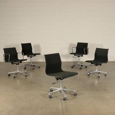 Five Office Chairs by Charles Eames for ICF