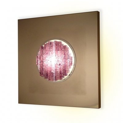 Angelo Brotto 'Sensazione Quasar' Sculptural Wall Light for Esperia, 1970s