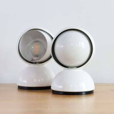 2 x Eclisse Desk lamp by Vico Magistretti for Artemide, 1970s