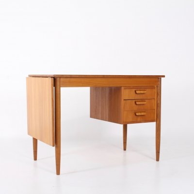 Folding Extendable Scandinavian writing desk